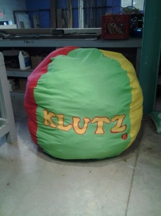 Klutz Art Piece, later donated to the Louisville Public Library