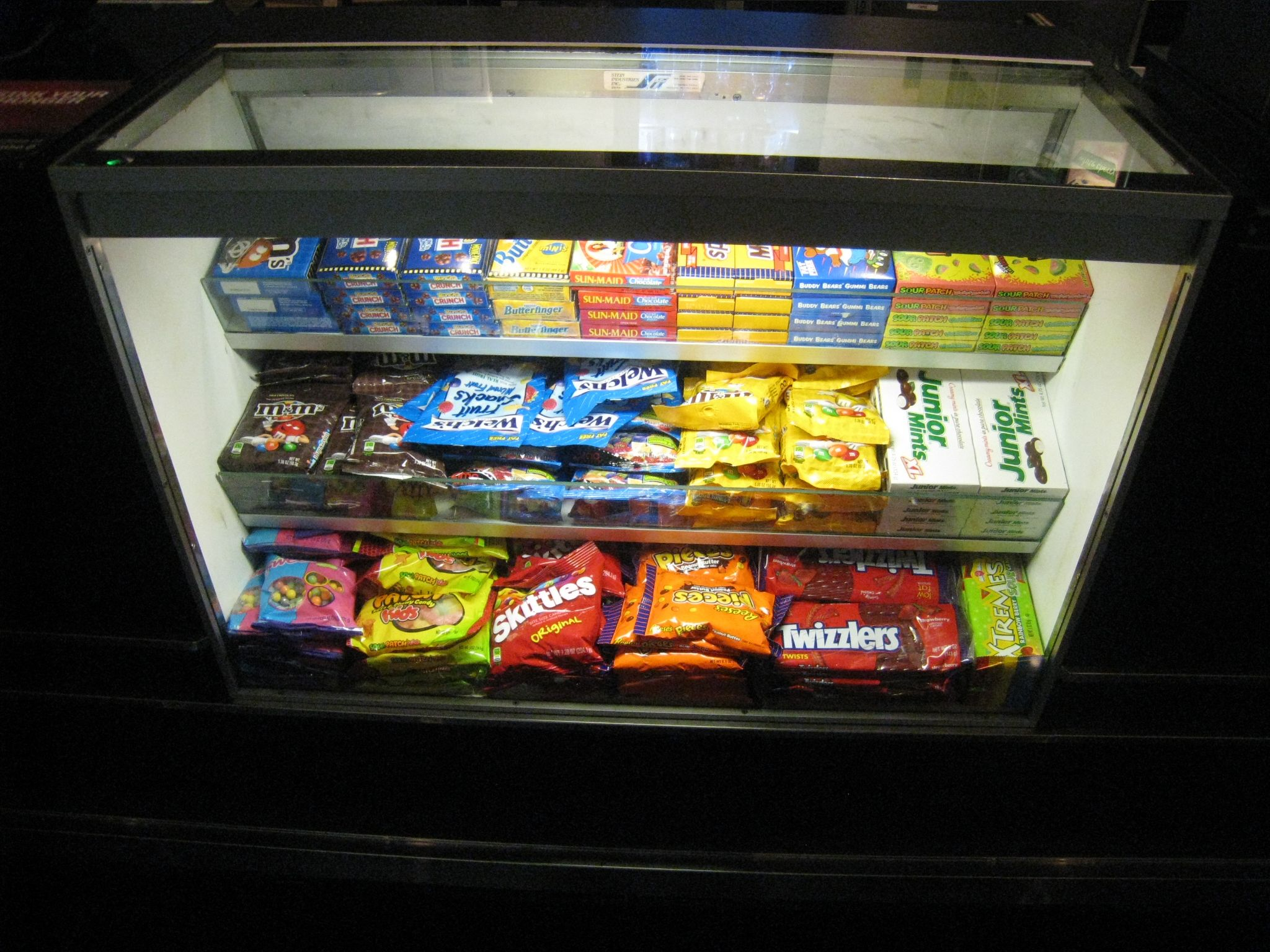movie theater candy - invisibly allergic blog