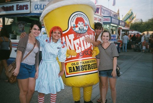 Kentucky State Fair With Friends - Invisibly Allergic
